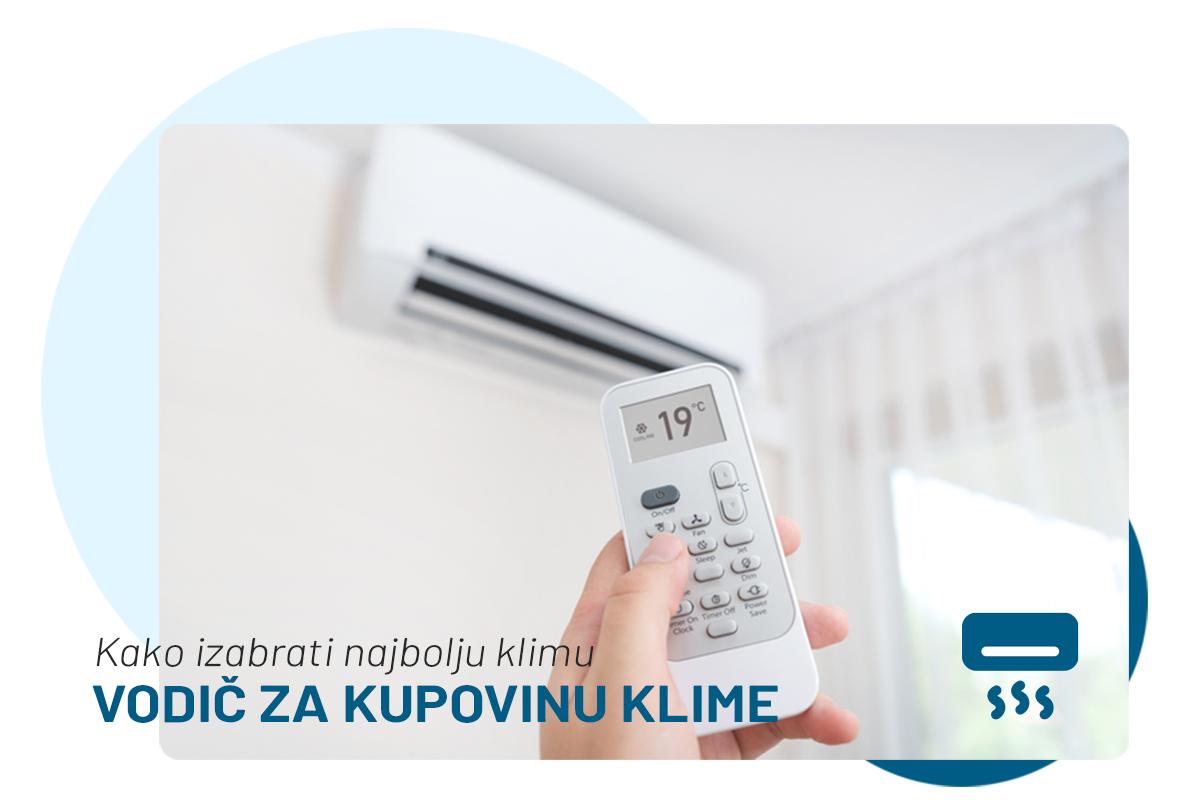 kako izabrati najbolji klima uredjaj za stan ili kucu